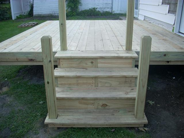 Smaller Custom Deck Installations by Dynasty Remodeling LLC.