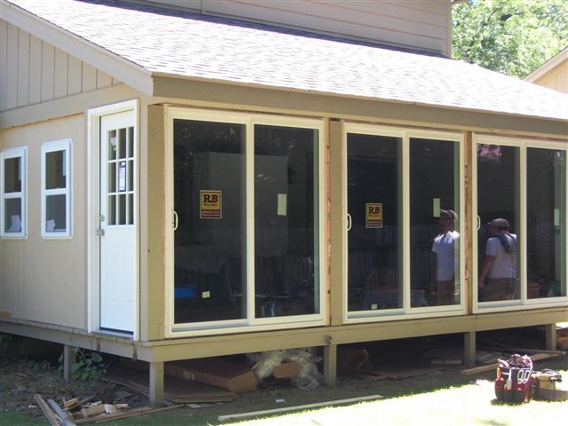 Expanded Porch Addition by Dynasty Remodeling LLC!