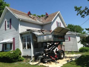 Roof Replacement - The Best Clean Up In Ohio!