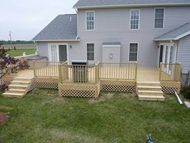 Large Deck Build & Design Contractors Dynasty Remodeling LLC.