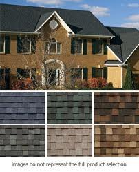 Dynasty Remodeling LLC Roofing Shingle Color Options.