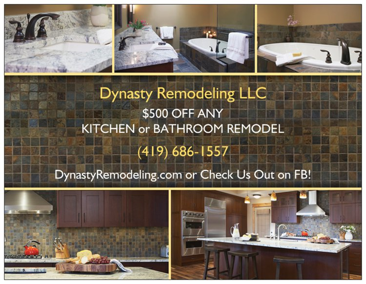 $500 OFF ANY KITCHEN & BATHROOM REMODEL!